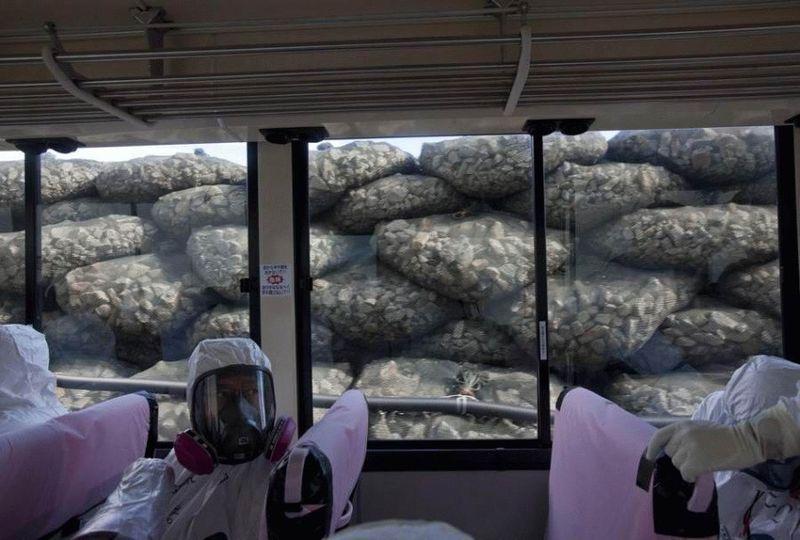 Визит на атомную станцию «Фукусима» в Японии (67 фотографий), photo:47