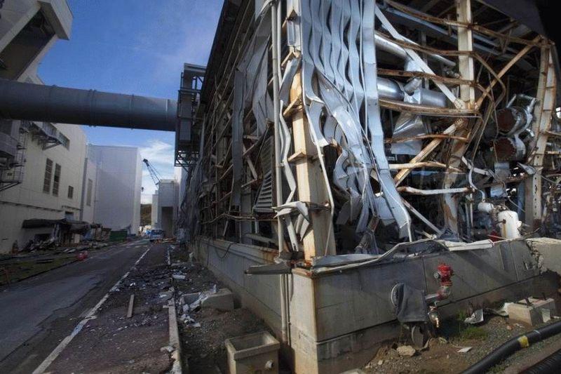 Визит на атомную станцию «Фукусима» в Японии (67 фотографий), photo:48