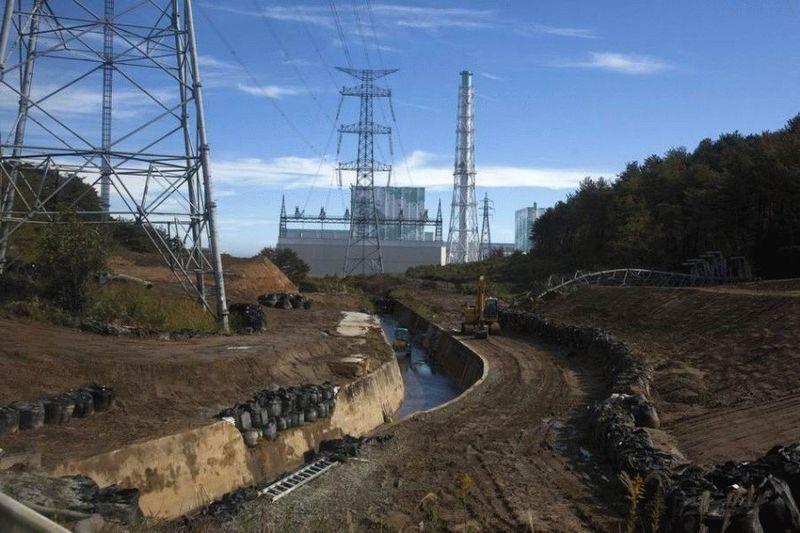 Визит на атомную станцию «Фукусима» в Японии (67 фотографий), photo:51