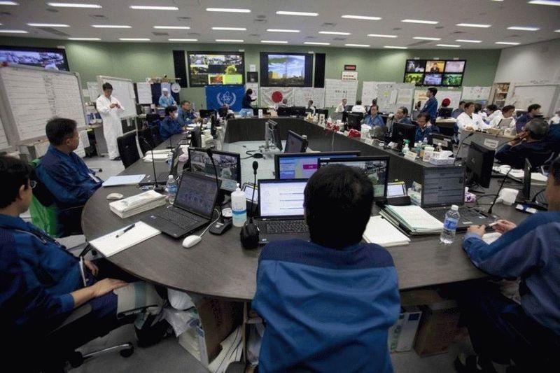 Визит на атомную станцию «Фукусима» в Японии (67 фотографий), photo:53