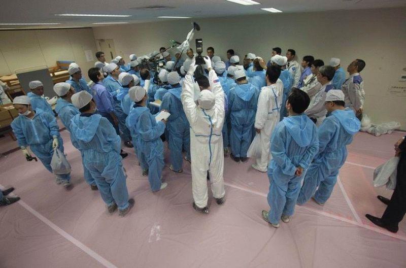 Визит на атомную станцию «Фукусима» в Японии (67 фотографий), photo:61