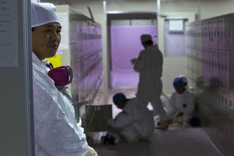 Визит на атомную станцию «Фукусима» в Японии (67 фотографий), photo:66