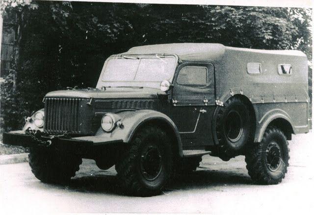 Уникальные и необычные советские автомобили (56 фото)