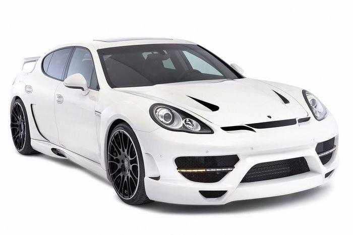 Porsche Panamera затюнили в ателье Hamann (7 фото)