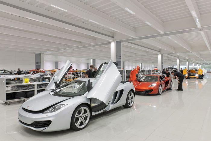 В Великобритании открылся цех по сборке McLaren (63 фото)