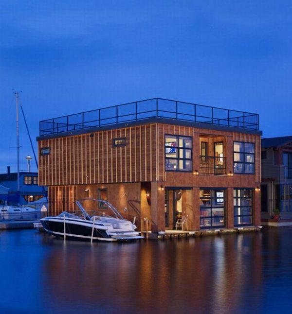Плавучий дом (10 фото)