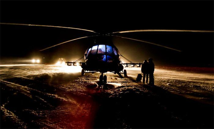 Экипаж Союза благополучно приземлился (6 фото)
