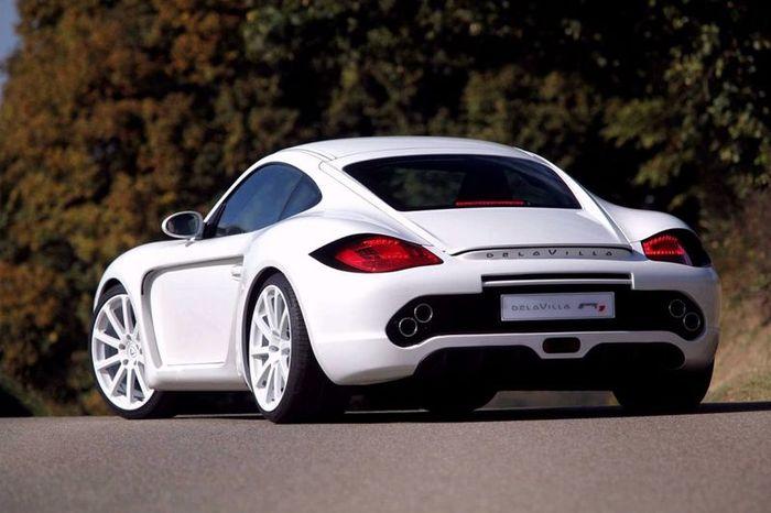 Porsche Cayman R от ателье Delavilla (12 фото+видео)
