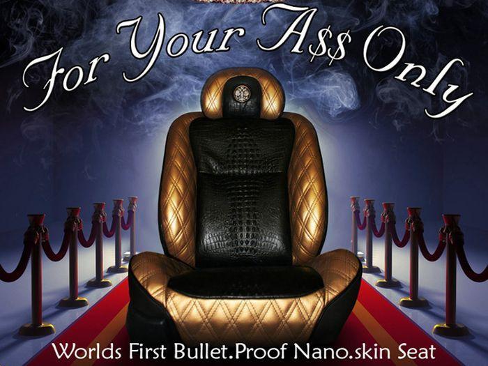 Кресло с названием For Your A$$ Only от автопроизводителя Dartz (2 фото)