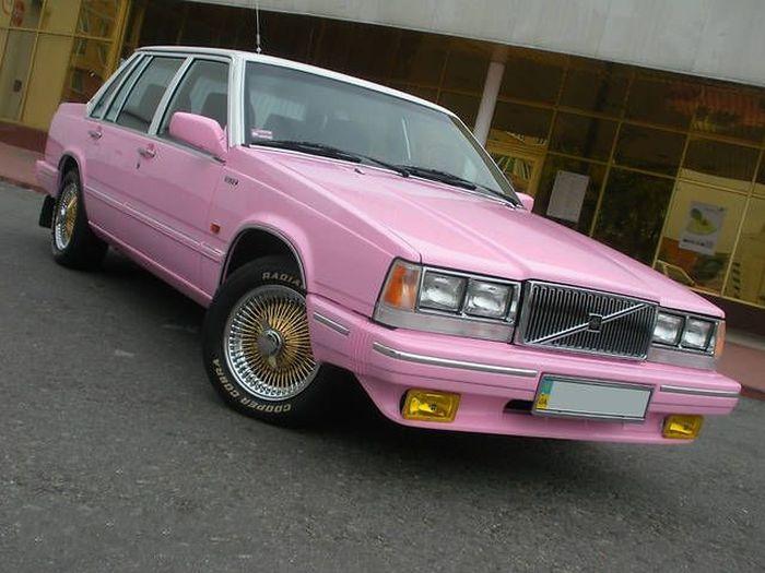 Розовый Volvo за 77000$ - мечта или реальность? (7 фото)