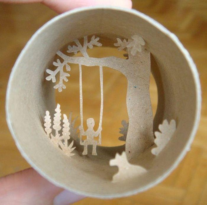 Мир в рулоне туалетной бумаги (24 фото)