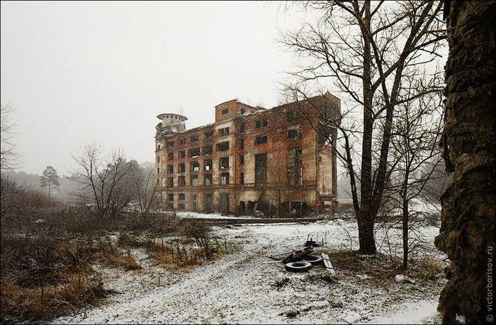 Торфобрикетный завод и Дутшевская ГЭС (14 фото)