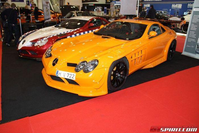 Суперкары и спорткары с тюнинге на Essen Motor Show 2011 (54 фото)