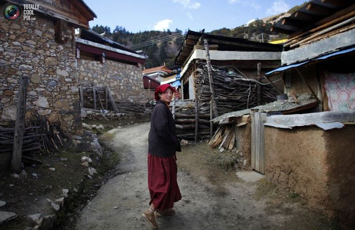 Тибетские буддистские монахини (23 фото)