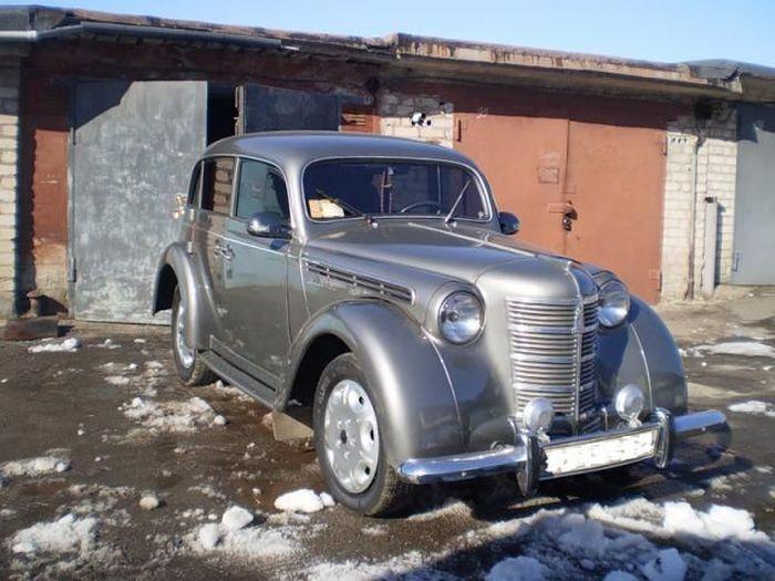 Примеры легкого тюнинга 401 Москвича (19 фото)