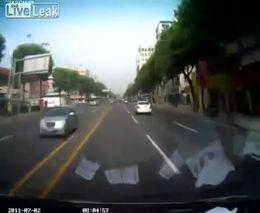 Настоящая гонка GTA - езда с мигалкой в Корее