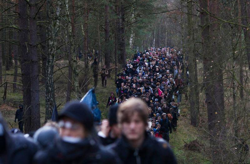 4268 990x650 Протесты против перевозки ядерных отходов