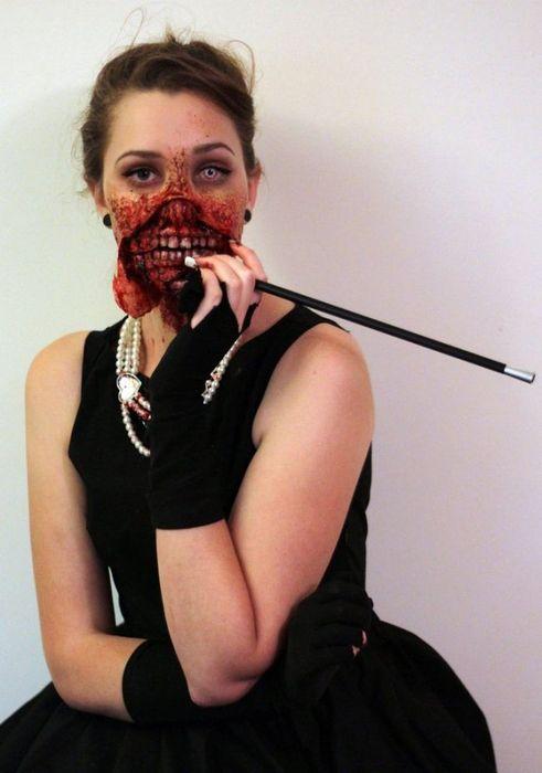 Жуткое перевоплощение в зомби  (10 фото)