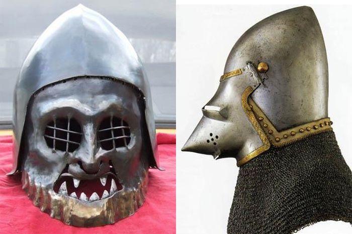 Доспехи средневековья (31 фото)