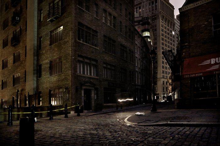 Темные улицы Нью-Йорка (16 фото)