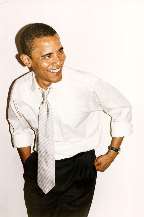Терри Ричардсон успел пофоткать Обаму перед выборами (7 фото)