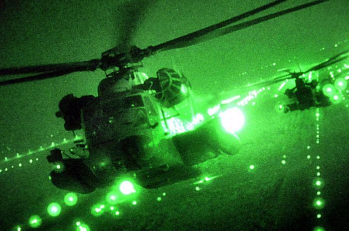 Военные действия в ночное время суток (46 фото)