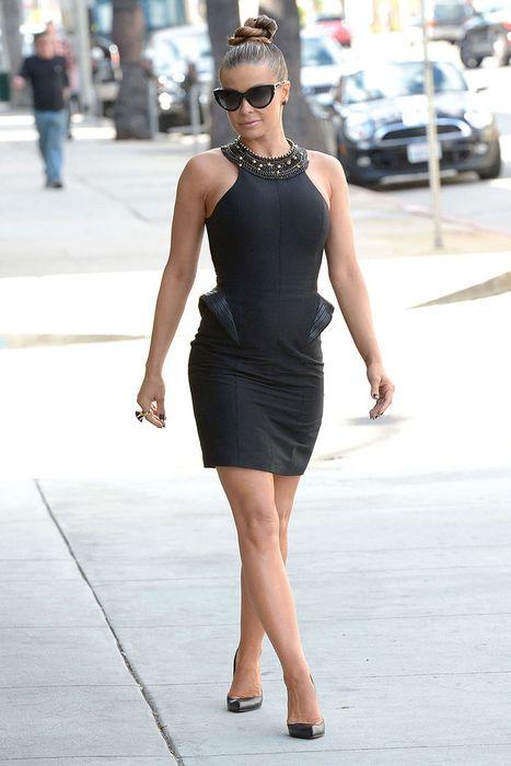 Кармен Электра в Голливуде (6 фото)