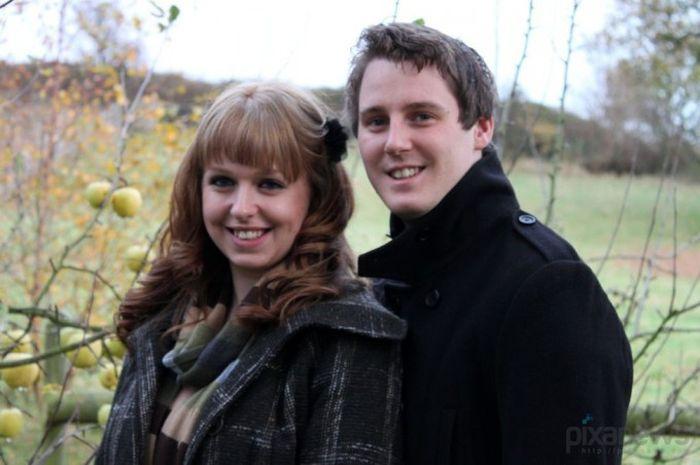 Успели пожениться (12 фото)
