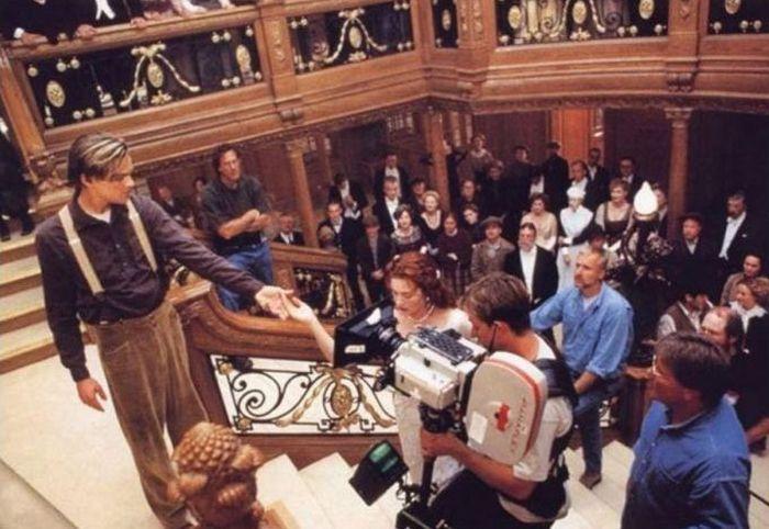 Detrás de las cámaras: Titanic