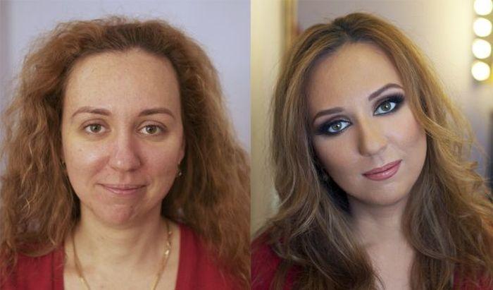 Чудеса профессионального макияжа (20 фото)