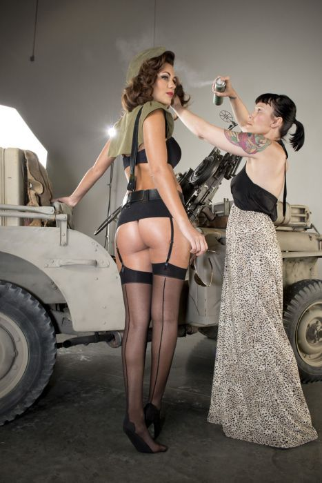 Как снимался эротический календаль (48 фото)