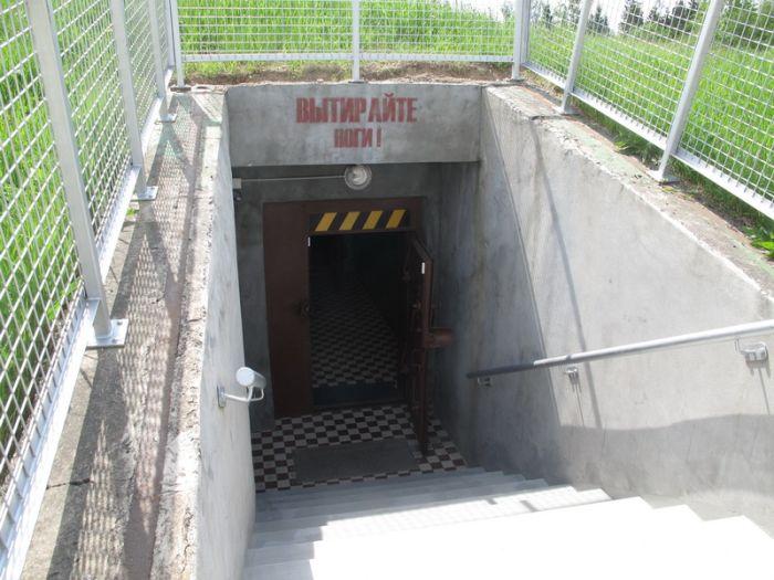 Подземный бункер на случай конца света (6 фото)