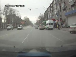 В Новосибирске сбили пешехода