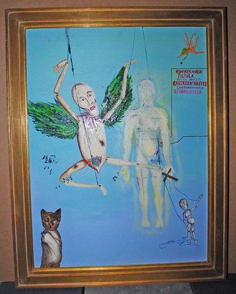 Картины Курта Кобейна (5 фото)
