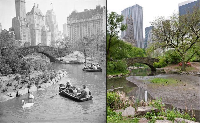 Нью-Йорк спустя годы (20 фото)
