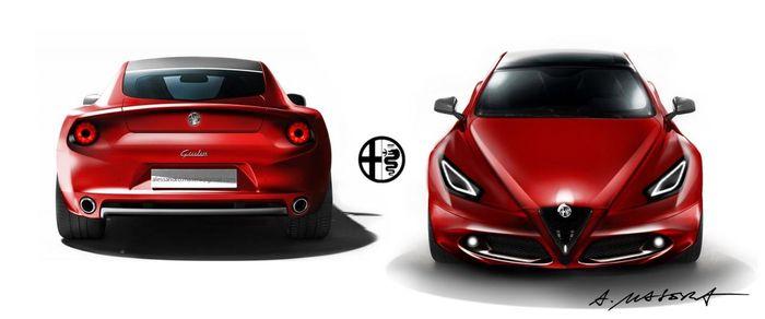 Alfa Romeo объединились с Maserati (5 фото)
