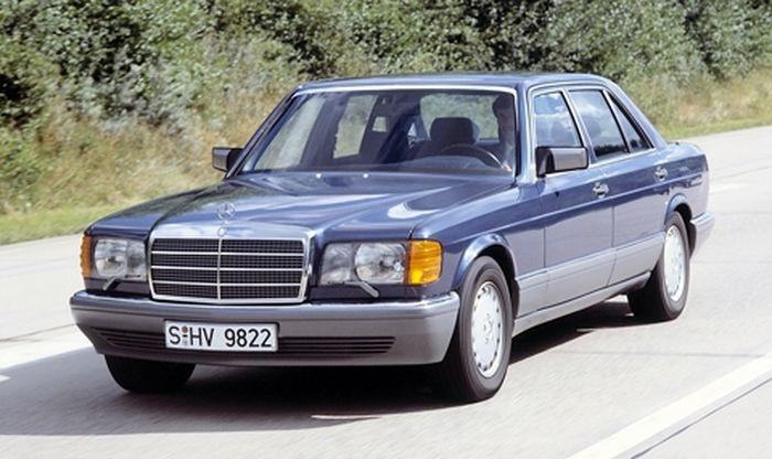 40 лет вместе с Mercedes-Benz S-Klasse (6 фото)