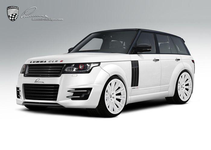 Тюнинг Range Rover от Lumma Design (2 фото + текст)