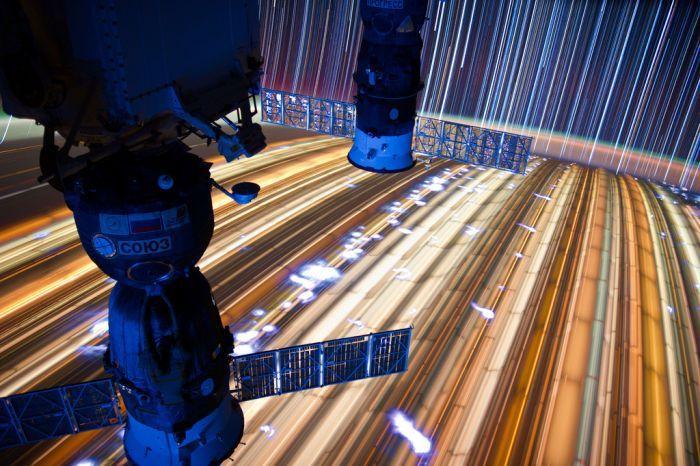 Космические снимки с большой выдержкой (35 фото)