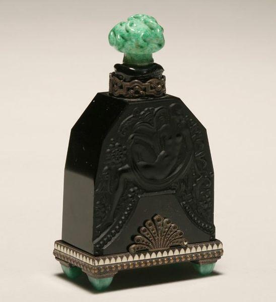 Красивые парфюмерные флаконы времен Ар деко (32 фото)