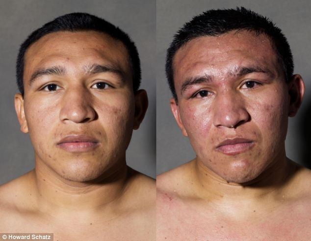 Boxeadores, antes y después de la lucha 2