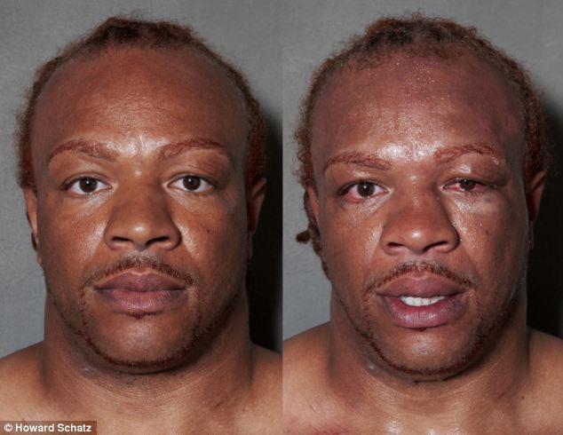 Boxeadores, antes y después de la lucha 5