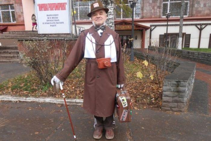 Модный пенсионер (13 фото)