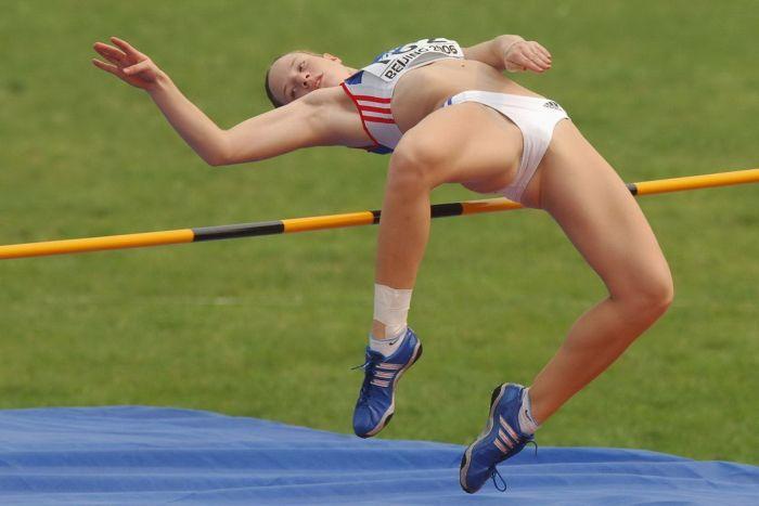 Sports women hot hidden photos asian