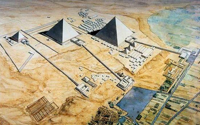 Чудеса света Древнего мира (10 фото + 1 видео)