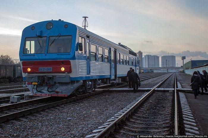 Кольцевая железная дорога Москвы (49 фото)