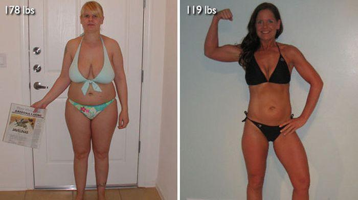 изменились, поменяли облик, похудели