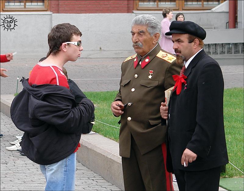 Смешные картинки сталин ленин