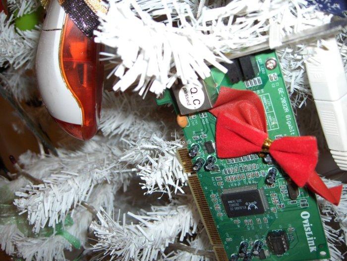 Открытка для программиста на новый год, своими