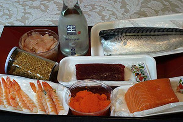 условиях в Как готовить суши дамашних
